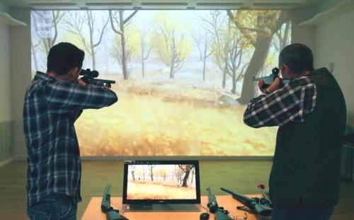 strzelnica laserowa symulator strzelecki mobilna strzelnica sportowa strzelanie szkolenia eventy imprezy wypożyczalnia wynajem sprzedaż sport rekreacja laser rywalizacja adrenalina cel bezpieczna zabawa