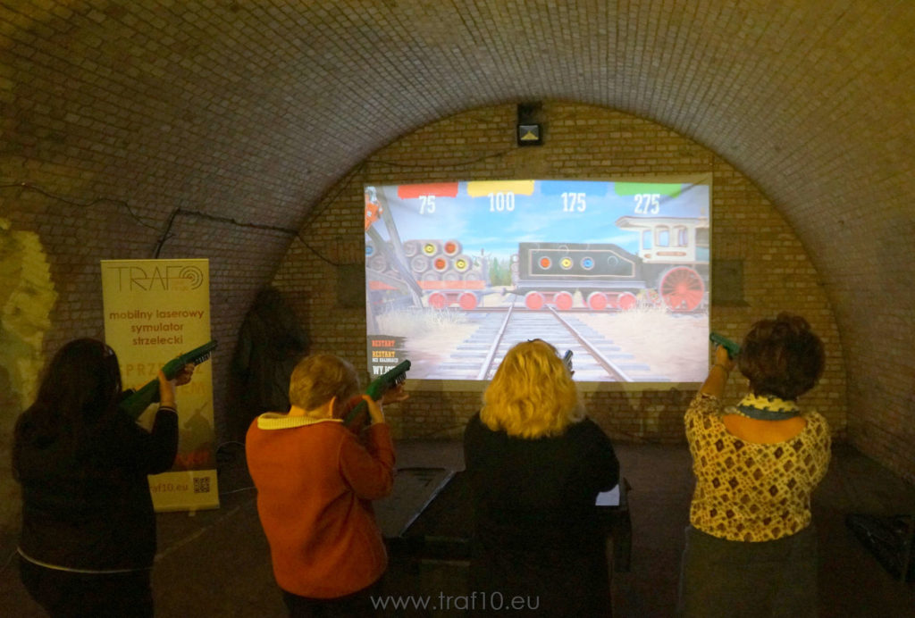 simway wildwest symulator trenażer event Poznań
