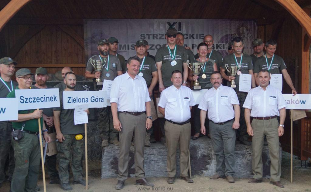 Laser-Ammo trenażer mistrzostwa SimWay Hunt zawody symulator laserowy Lasy państwowe straz leśna